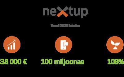 NextUp jatkaa vahvalla kasvu-uralla