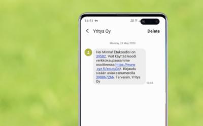 Näin lähetät personoituja tekstiviestejä API-rajapinnan kautta Quriirista