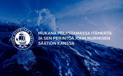 NextUp Oy mukana Itämeren suojelussa