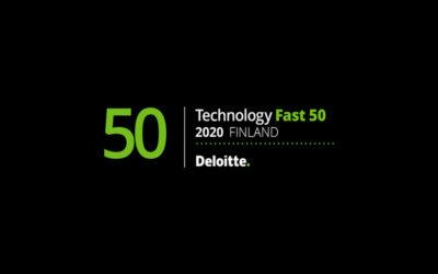NextUp Deloitten Technology Fast 50 -listalle